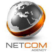 Logo boutique Netcom Agency - GoRetroGaming.com