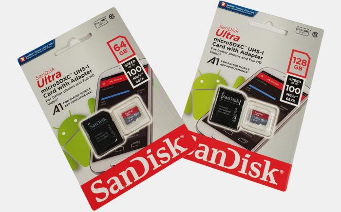 Carte microSD SanDisk Ultra 64GB ou 128GB- GoRetroGaming.com