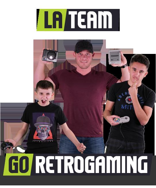 L'équipe - GoRetroGaming.com